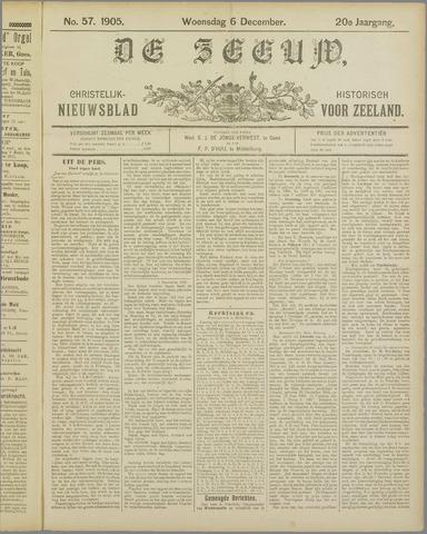 De Zeeuw. Christelijk-historisch nieuwsblad voor Zeeland 1905-12-06