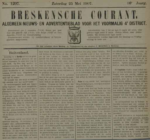 Breskensche Courant 1907-05-25