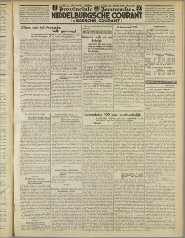 Middelburgsche Courant 1939-04-22