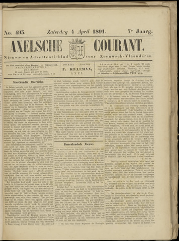 Axelsche Courant 1891-04-04