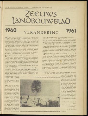 Zeeuwsch landbouwblad ... ZLM land- en tuinbouwblad 1960-12-31