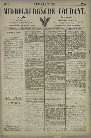 Middelburgsche Courant 1883-01-05