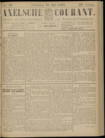 Axelsche Courant 1917-07-25