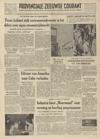 Provinciale Zeeuwse Courant 1960-10-20