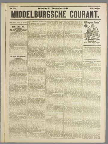 Middelburgsche Courant 1927-12-27