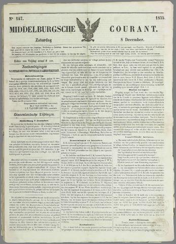 Middelburgsche Courant 1855-12-08
