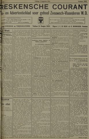 Breskensche Courant 1934-08-03