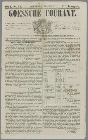 Goessche Courant 1864-06-16