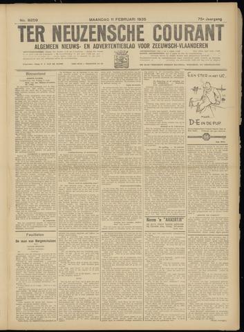 Ter Neuzensche Courant. Algemeen Nieuws- en Advertentieblad voor Zeeuwsch-Vlaanderen / Neuzensche Courant ... (idem) / (Algemeen) nieuws en advertentieblad voor Zeeuwsch-Vlaanderen 1935-02-11