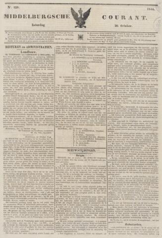 Middelburgsche Courant 1844-10-26