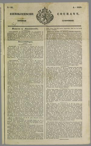 Zierikzeesche Courant 1844-11-12