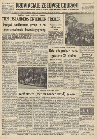 Provinciale Zeeuwse Courant 1958-09-03