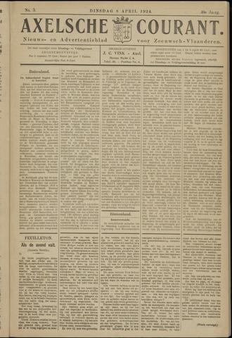 Axelsche Courant 1924-04-08