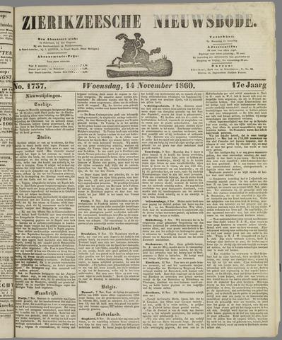 Zierikzeesche Nieuwsbode 1860-11-14