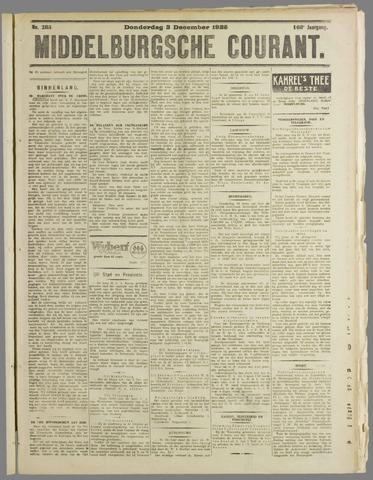 Middelburgsche Courant 1925-12-03