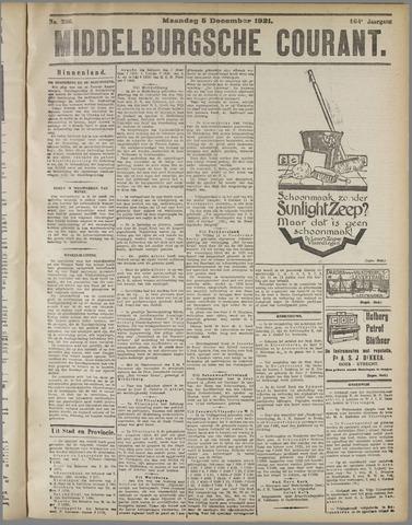 Middelburgsche Courant 1921-12-05