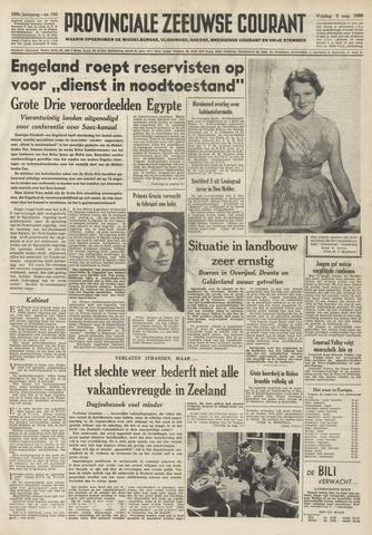 Provinciale Zeeuwse Courant 1956-08-03