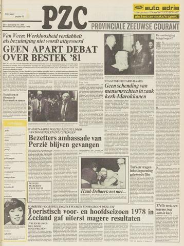 Provinciale Zeeuwse Courant 1978-08-30