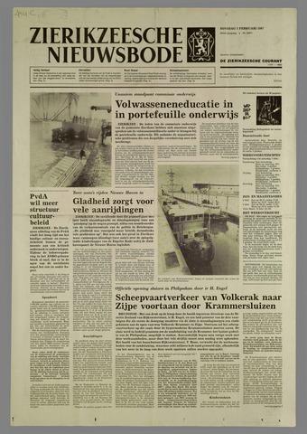 Zierikzeesche Nieuwsbode 1987-02-03