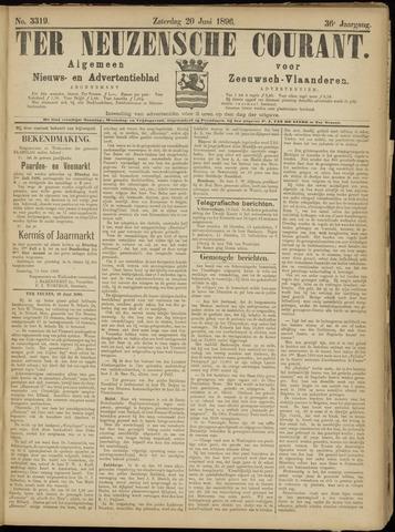 Ter Neuzensche Courant. Algemeen Nieuws- en Advertentieblad voor Zeeuwsch-Vlaanderen / Neuzensche Courant ... (idem) / (Algemeen) nieuws en advertentieblad voor Zeeuwsch-Vlaanderen 1896-06-20