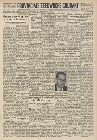 Provinciale Zeeuwse Courant 1946-10-26