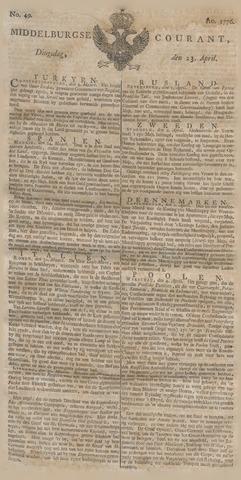 Middelburgsche Courant 1776-04-23