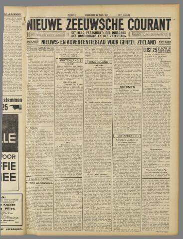Nieuwe Zeeuwsche Courant 1933-04-20