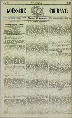 Goessche Courant 1861-08-26