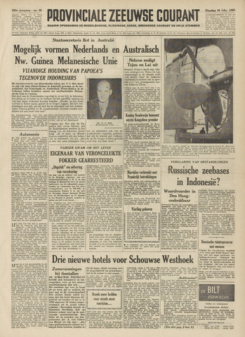 Provinciale Zeeuwse Courant 1960-02-16