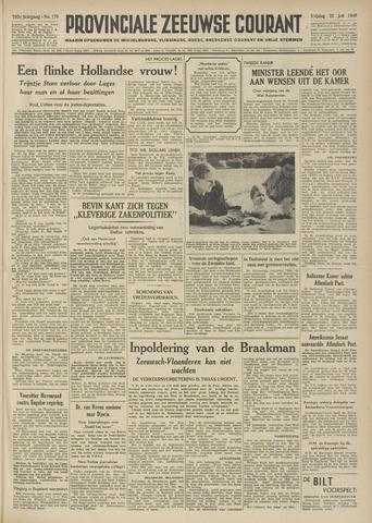 Provinciale Zeeuwse Courant 1949-07-22
