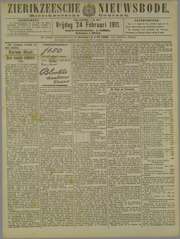 Zierikzeesche Nieuwsbode 1911-02-24