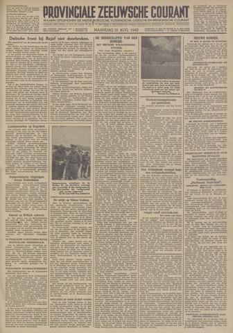Provinciale Zeeuwse Courant 1942-08-31