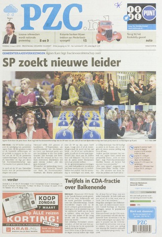 Provinciale Zeeuwse Courant 2010-03-05