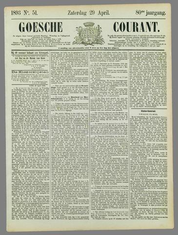 Goessche Courant 1893-04-29