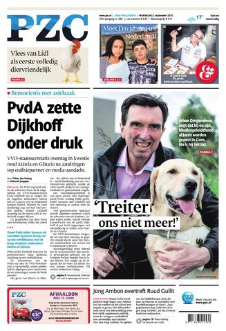 Provinciale Zeeuwse Courant 2015-09-02