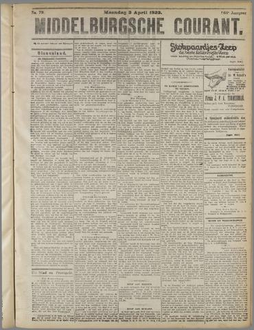 Middelburgsche Courant 1922-04-03