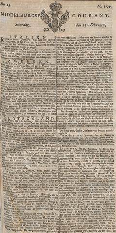 Middelburgsche Courant 1779-02-13