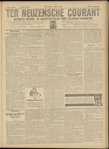 Ter Neuzensche Courant. Algemeen Nieuws- en Advertentieblad voor Zeeuwsch-Vlaanderen / Neuzensche Courant ... (idem) / (Algemeen) nieuws en advertentieblad voor Zeeuwsch-Vlaanderen 1936-05-01