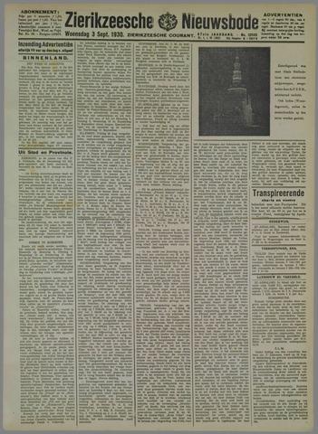 Zierikzeesche Nieuwsbode 1930-09-03