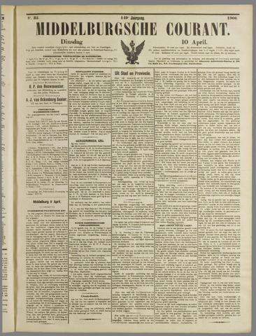 Middelburgsche Courant 1906-04-10