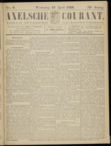 Axelsche Courant 1916-04-19