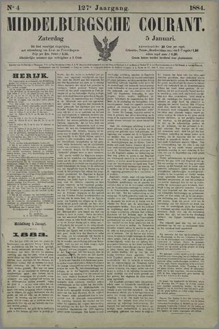 Middelburgsche Courant 1884-01-05