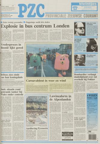 Provinciale Zeeuwse Courant 1996-02-19