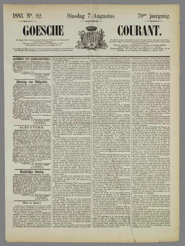 Goessche Courant 1883-08-07