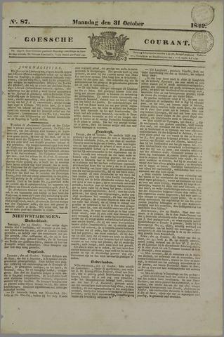 Goessche Courant 1842-10-31