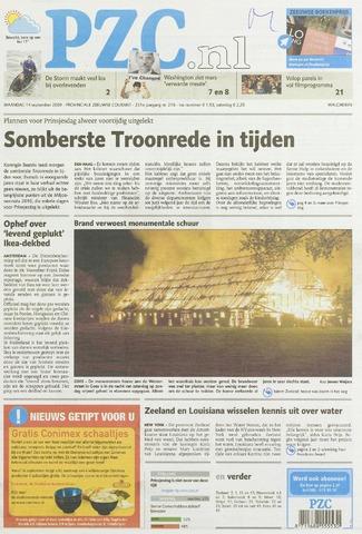Provinciale Zeeuwse Courant 2009-09-14