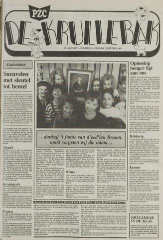 Provinciale Zeeuwse Courant katern Krullenbak (1981-1999) 1987-10-13