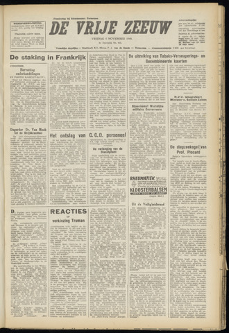 de Vrije Zeeuw 1948-11-05