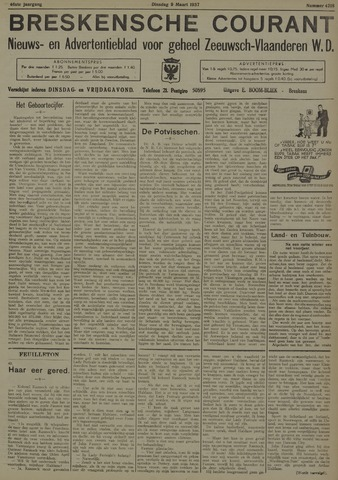 Breskensche Courant 1937-03-09