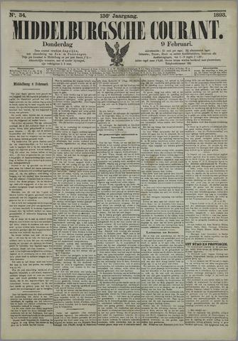 Middelburgsche Courant 1893-02-09